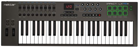 Nektar Impact LX49 Plus 49 Key USB Keyboard Controller