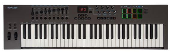 Nektar Impact LX61 Plus 61 Key USB Keyboard Controller