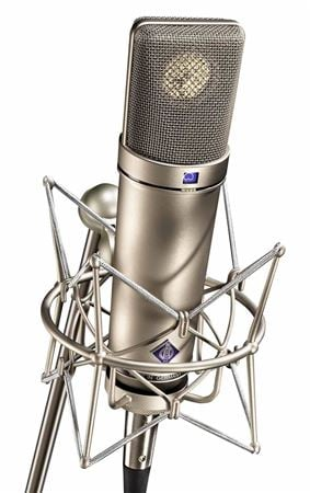 Neumann U87 Ai Set Z Multi Pattern Large Diaphragm Condensor Microphone With Shockmount And Case