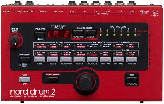NOR DRUM2 LIST Product Image