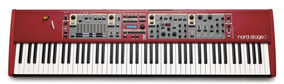 Nord Stage 2 HA88 88 Key Stage Piano Synthesizer Keyboard