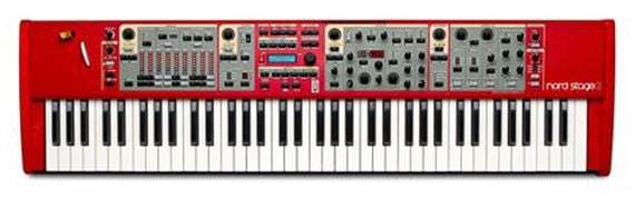 Nord Stage 2 SW73 73 Key Stage Piano Synthesizer Keyboard