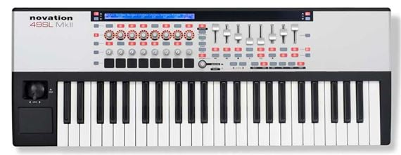 Novation 49 SL MKII 49 Key USB MIDI Keyboard Controller