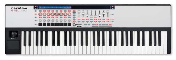 Novation 61 SL MKII 61 Key USB MIDI Keyboard Controller