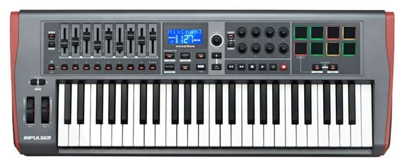 Novation Impulse 49 49 Key USB MIDI Controller Keyboard