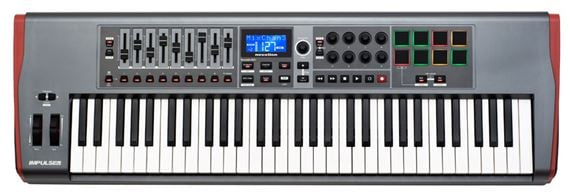 Novation Impulse 61 61 Key USB MIDI Controller Keyboard