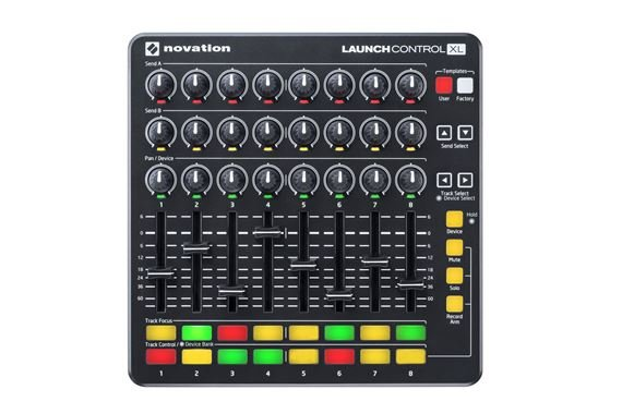 Novation Launch Control XL Control Surface in Black