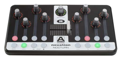 Novation Nocturn USB Plugin Controller