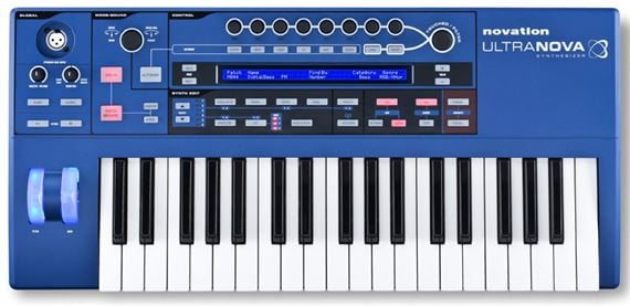 Novation UltraNova Analog Modeling Synthesizer with Vocoder