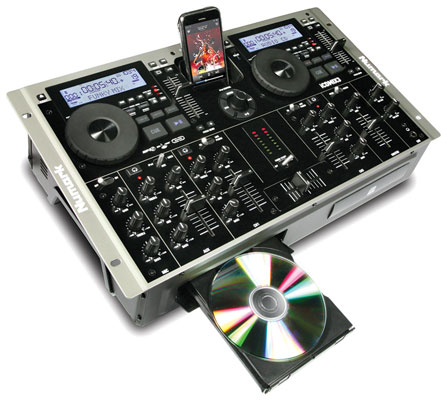 Numark iCDMIX3 Dual MP3/CD Performance DJ System with iPod Dock