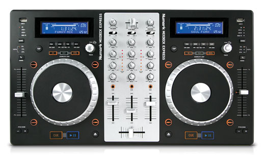 Numark Mixdeck Express Cd And Media Player Dj Controller