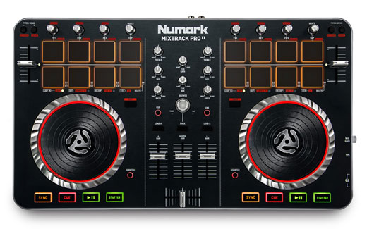 Numark MixTrack Pro II USB DJ Controller with Audio Interface