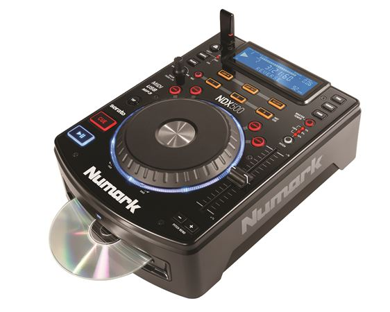 Numark NDX500 USB CD and Media Player DJ Controller
