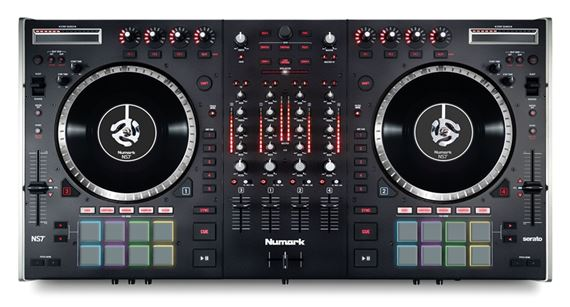 Numark NS7II USB DJ Controller with Audio Interface