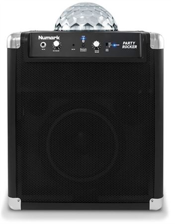 Numark Party Rocker Bluetooth Wireless Speaker System with Light Show