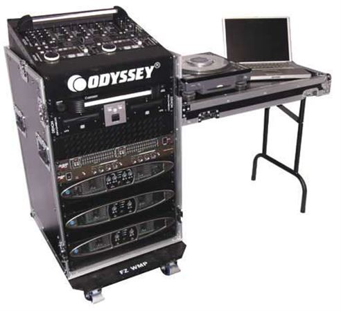Odyssey FZ1116WDLX Flight Zone Combo Rack Workstation Table