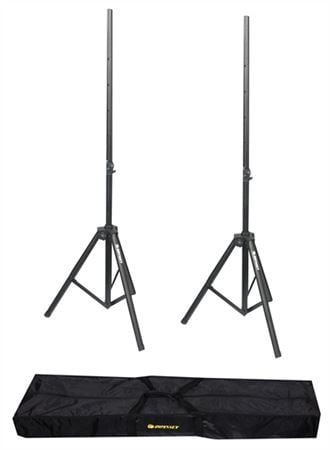 Odyssey LTS2X2B Tripod Speaker Stands and Bag