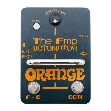 Orange Amp Detonator Transformer Isolated ABY Amp Switcher Pedal