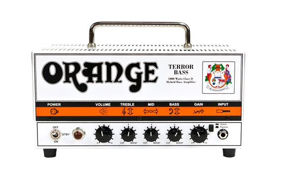 Orange Terror Bass BT1000H Bass Guitar Amp Head with Bag