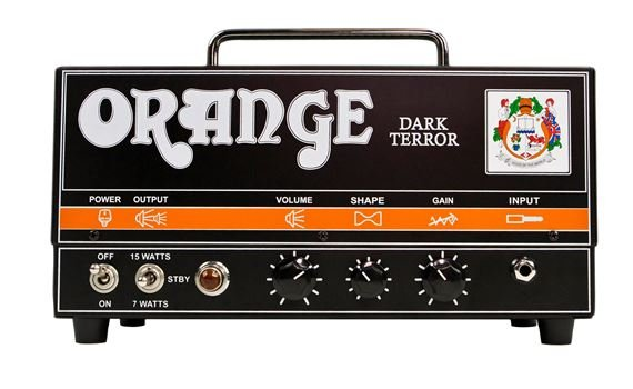 Orange DA15H Dark Terror Tube Guitar Amp Head with Gig Bag