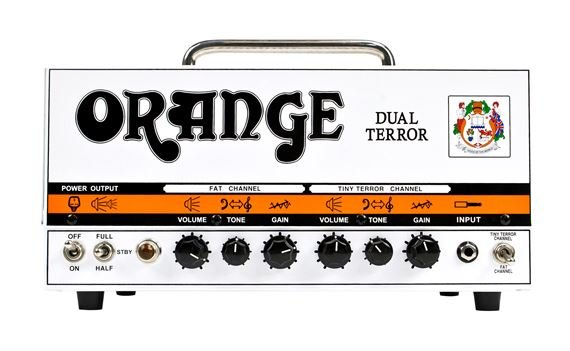 Orange Dual Terror Guitar Amplifier Head with Gig Bag