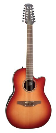Ovation CC245 Celebrity 12 String Cutaway AE