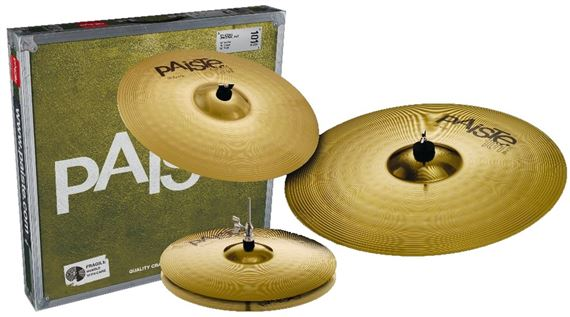 Paiste 101 Universal Set 14 HH/20 Ride/16 Crash Cymbals