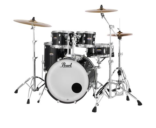 Pearl Decade DMP925SP Maple 5 Piece Shell Kit Black Ice