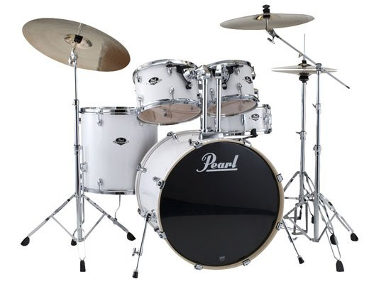 Pearl Export 5 Piece Drum Set With Hardware