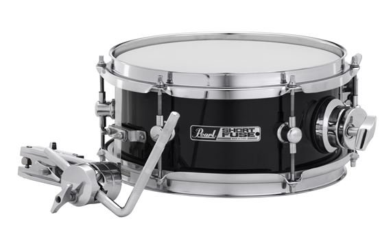 Pearl Short Fuse 10x45 Inch Snare With Mount Black