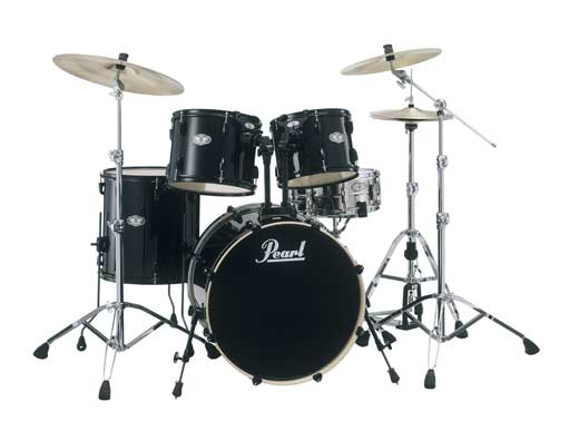 Pearl Vision VX Standard 5 Piece Drum Set with Hardware