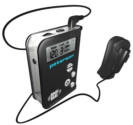 Peterson BodyBeat Compact Pulsing Digital Metronome