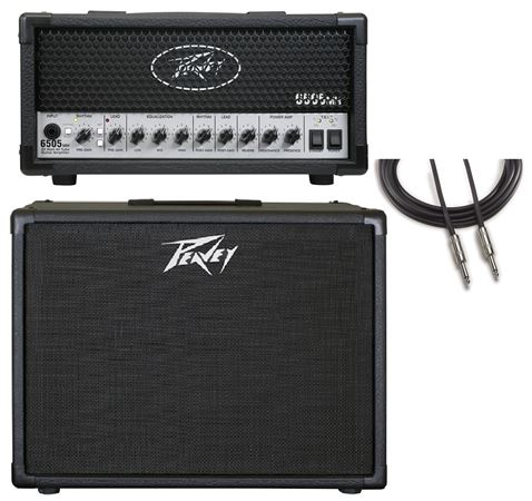 Peavey 6505 Plus Mini Head with 1126 Cabinet