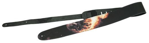Peavey Marvel Ghost Rider Leather Guitar Strap