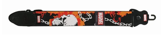 Peavey Marvel Ghost Rider Nylon Guitar Strap