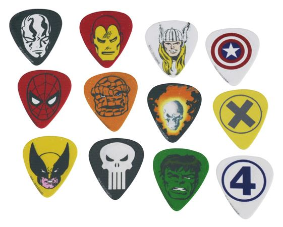 Peavey Marvel Classic Heroes Pick Pack