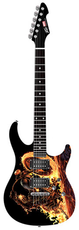 Peavey Ghost Rider Predator Plus EXP Stoptail Electric Guitar