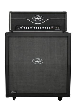 peavey valveking half stack guitar amplifier 4x12 and head. Black Bedroom Furniture Sets. Home Design Ideas