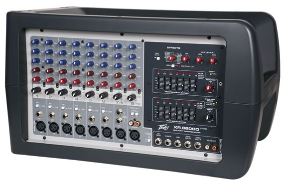 Peavey XR 8600D Powered Mixer with Digital Amplifier