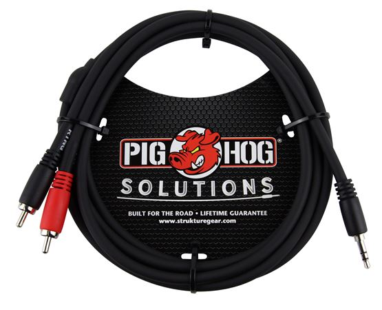 Pig Hog Solutions PB-S3R Stereo Breakout Cable