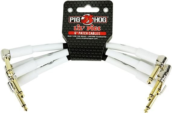 Pig Hog Lil Pigs Pedal Patch Cable Pack
