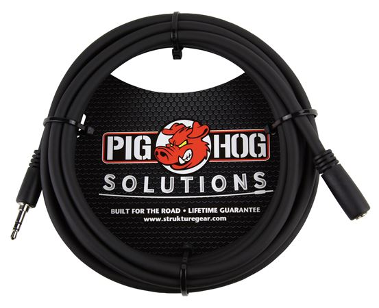 Pig Hog Solutions 35mm TRS Headphone Extension Cable