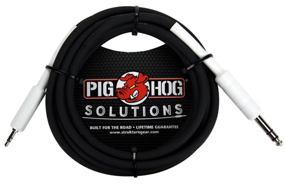 Pig Hog Solutions PX48J 1/4 inch to 1/8 inch Cable