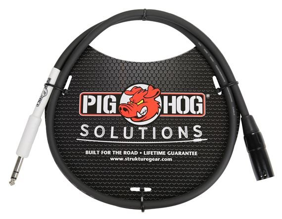 Pig Hog Solutions PX4T3 1/4 inch to XLR Cable