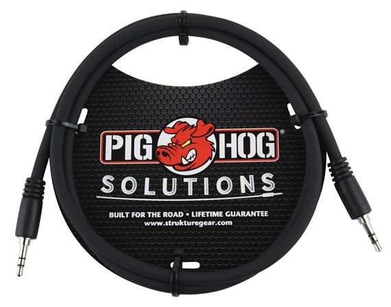 Pig Hog Solutions PX-T35 1/8 inch TRS Cable