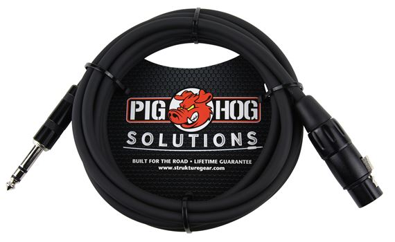 Pig Hog Solutions PX-TMXF 1/4 inch to XLR Cable