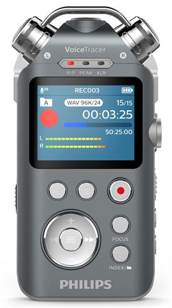 Philips DVT7500 Voice Tracer Audio Recorder