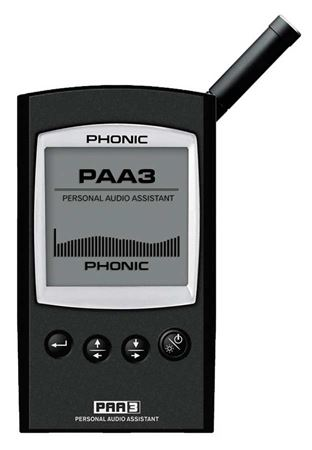 Phonic PAA3 Handheld Audio Analyzer with USB