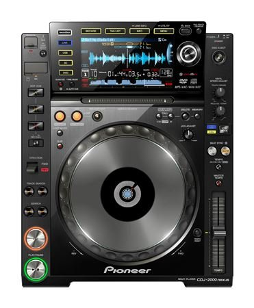 Pioneer CDJ2000NXS Professional Wireless Multi Player