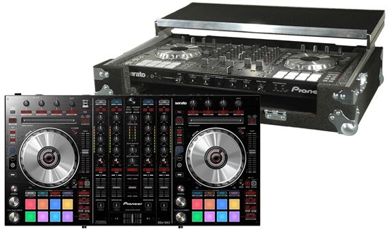 Pioneer DDJSX2 Professional DJ Controller with Grundorf Carpet Case